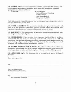 consulting and retainer agreement free download With consulting retainer agreement templates