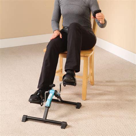 folding digital pedal exerciser fitness equipment easy