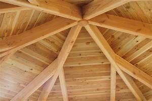 Dach Selber Bauen : pavillon skanholz colmar 6 eck pavillion holzpavillon ~ Lizthompson.info Haus und Dekorationen