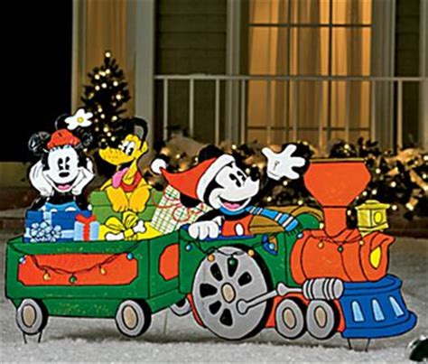 jcpenney mickey yard train  shipped