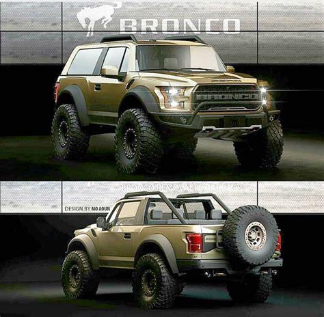 ford bronco  door convertible rendering