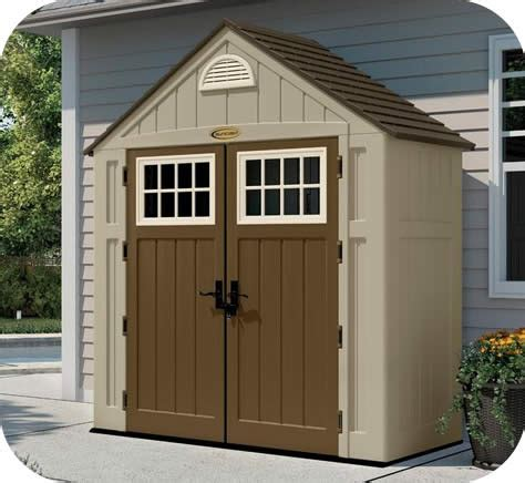 sheds for less suncast 7x3 alpine resin storage shed kit bms7300