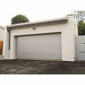 porte de garage sectionnelle avec montage porte fenetre With porte de garage sectionnelle avec porte blindée paris
