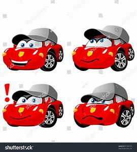 Auto Emotion : funny cartoon car emotions stock vector illustration 97984100 shutterstock ~ Gottalentnigeria.com Avis de Voitures
