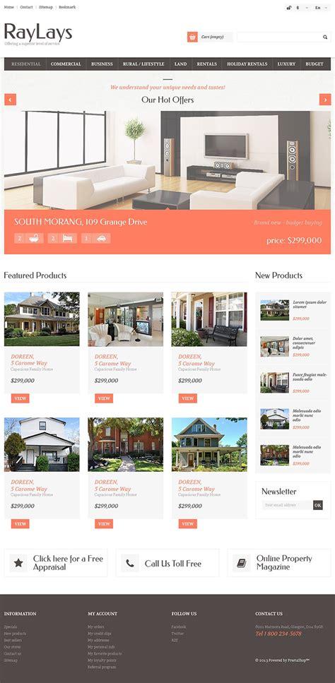 Real Estate Themes 6 Real Estate Prestashop Themes Templates Free Premium