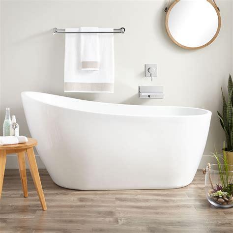 in tubs acrylic slipper tub bathroom