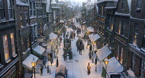 bureau de charme la vieille ville avec ses rues enneigées remarquables et
