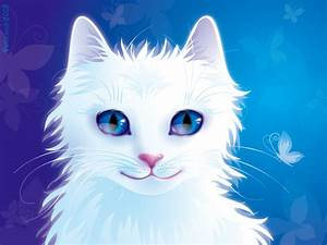 White Cat by rosinka on DeviantArt