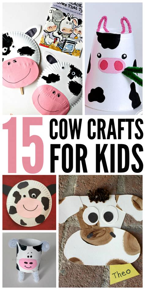 15 cow crafts for keep them moo ving kid 881 | 05e1decd7b3c45db37cd9def269e53e3