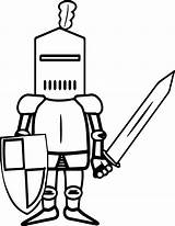 Coloring Sword Knight Minecraft Swords Knights Weapons Template Printable Popular Armor Coloringhome sketch template