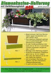Untersetzer Für Blumenkästen : blumenkastenhalterung f r fensterbank ohne bohren ideen ~ Orissabook.com Haus und Dekorationen