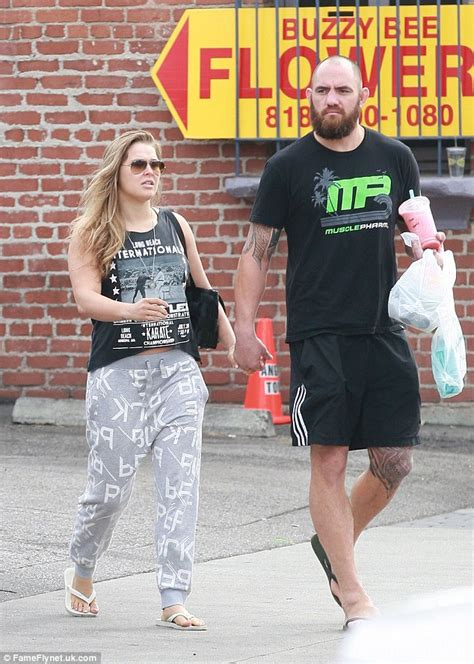 Ronda Rousey Boyfriend Suzuki by Ronda Rousey Enjoys Downtime With Ufc Fighter Boyfriend