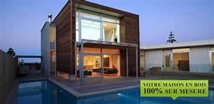 Maison écologique En Kit : maison en bois cologique immeco construction la maison en kits ~ Dode.kayakingforconservation.com Idées de Décoration