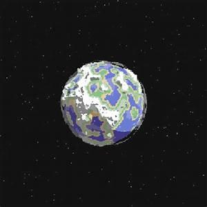 pixel earth   Tumblr