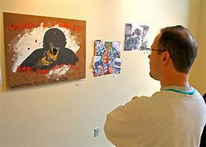 Students make statement with political art show – Whitman Wire
