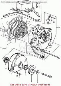Honda Ln360 Motor Generator  Rh Crankshaft Pulley  360