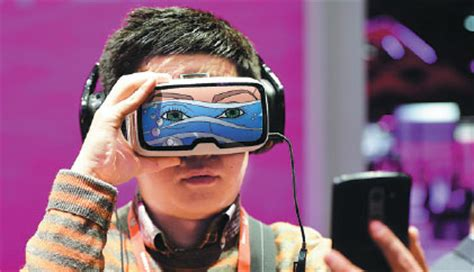 boy takes  selfie   tests  oculus vr virtual