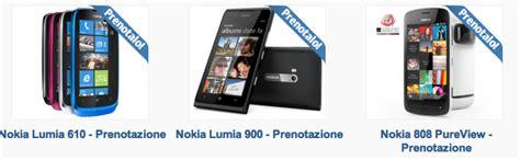 iniziano i pre order per i nuovi nokia lumia 900 lumia 610 e 808 pureview