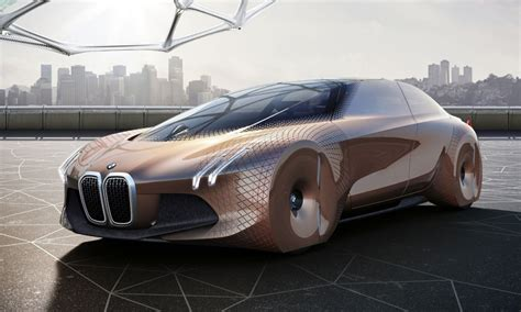 Bmw Showcases Self-driving Concept Car