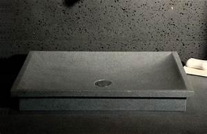 evier cuisine granit evier encastrer granit et rsine With salle de bain design avec evier noir 2 bacs encastrable