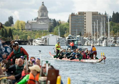 Dragon Boat Racing Olympia by Paddles Up In The Puget Sound The 11th Annual Dragon Boat