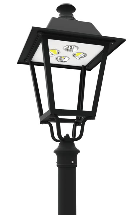 led pt 710 series led post top lantern light fixtures