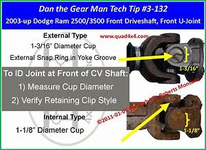 2003 Ford F250 4x4 Drive Shaft Greasing