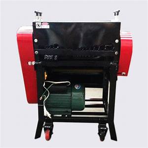 Manual Feed Copper Aluminum Wire Stripping Machine From
