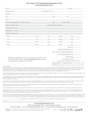 registration form template   fill  print
