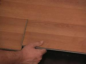 How to install snap together laminate flooring how tos diy for Wood floor snap lock