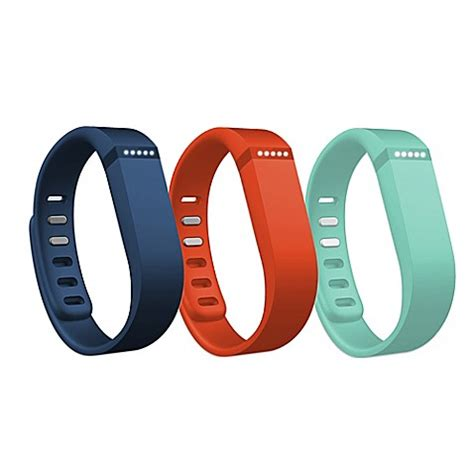 fitbit flex in shower buy fitbit 174 flex large wristband 3 pack accessory from