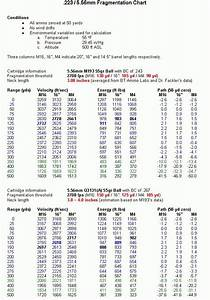Ammunition Chart Poster Bullet Charts Reloading Ammo