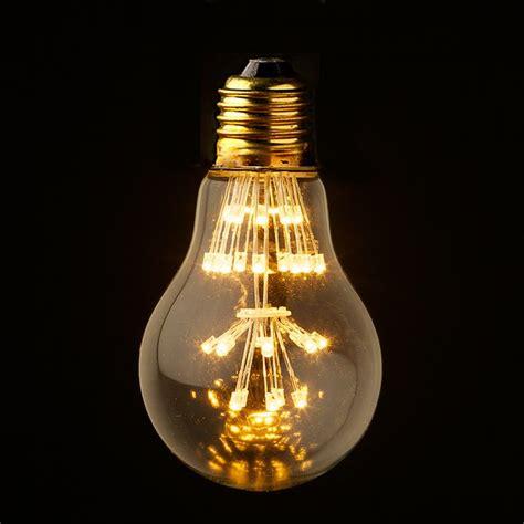 3 watt vintage led clear bulb steunk decor