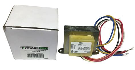 208 24 Volt Transformer Wiring by Transformer With Wire Leads And Connect Universal 24
