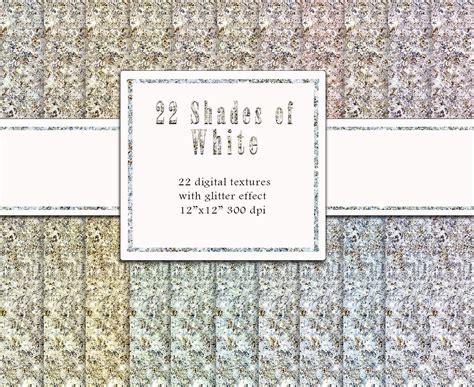 Christmas White Glitter Digital Paper Champagne Glitter