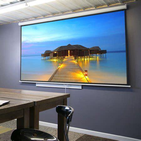 "Zeny 100"" Diagonal 16:9 Projection Projector Screen HD"