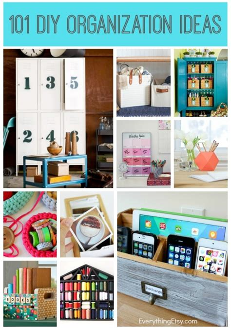 diy small bedroom organization craft studio envy cathe holden everythingetsy com 15189 | 101 DIY Organization Ideas EverythingEtsy.com 650x928