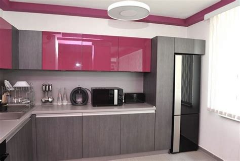 How to design a Pink and Gray Kitchen   Home Decor Buzz