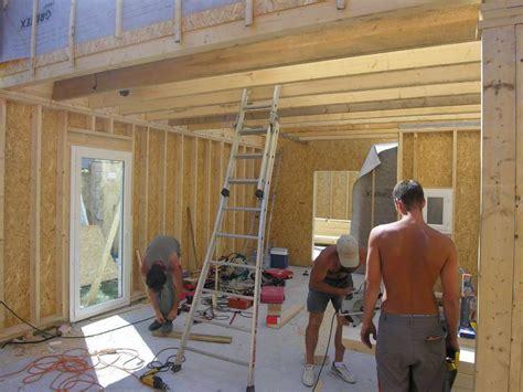 cout construction maison ossature bois autoconstruction maison ossature bois boismaison