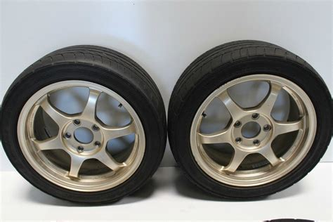 Used Set Of Authentic Jdm Ssr Type-c 17 Inches Wheels With