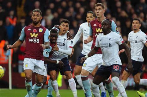 Liverpool Aston Villa Goals Today