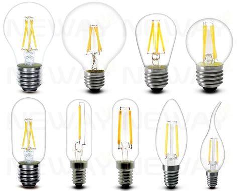 1 8w e14 filament led clear candle bulb 360 degrees