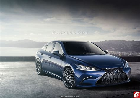 2019 Lexus Es First Official Photos And Everything Else