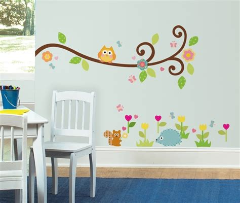 Kinderzimmer Deko Wandsticker by 50 Deko Ideen Kinderzimmer Reichtum An Farben Motiven