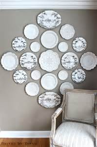 The easy how to for hanging plates on wall driven