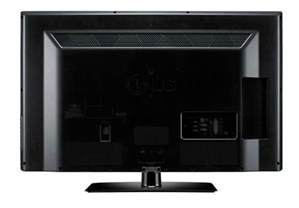 LG TV Back View
