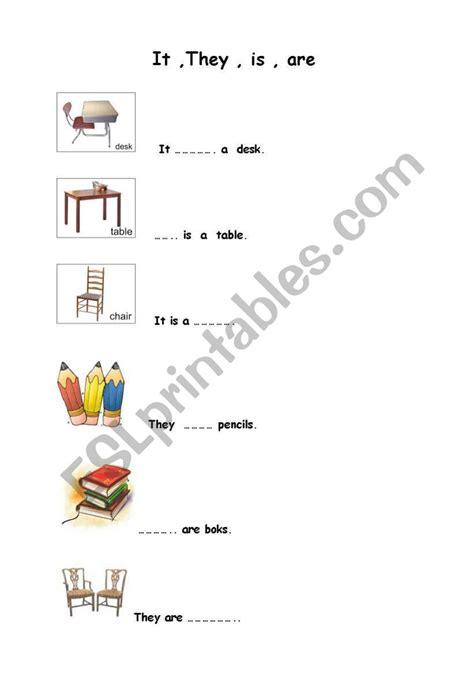 It  They  Esl Worksheet By Ertanarici