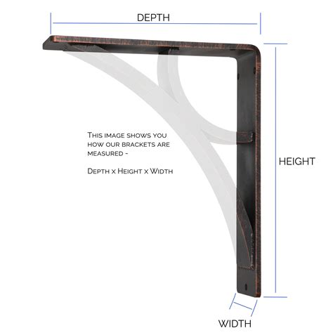 Corbel Course by Classic Scroll Iron Corbel 3in Wide Countertop Support