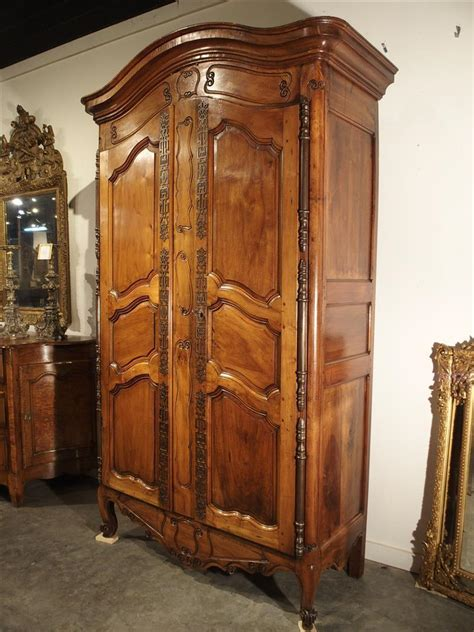 Wood Armoire by Antique Walnut Wood Armoire Fourques Circa 1820 From