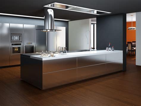 High Tech Kitchen  3d Cad Model Library Grabcad